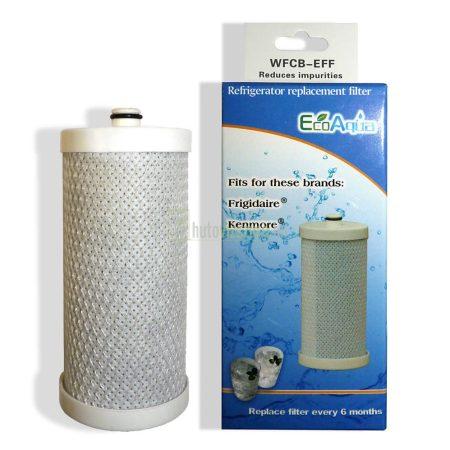 EcoAqua WFCB-EFF hűtő vízszűrő Frigidaire WFCB (Pure Source PLUS) szűrő helyett
